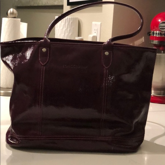Longchamp Bags   Never Used Purple Patent Leather Bag   Poshmark a41f28d4a4